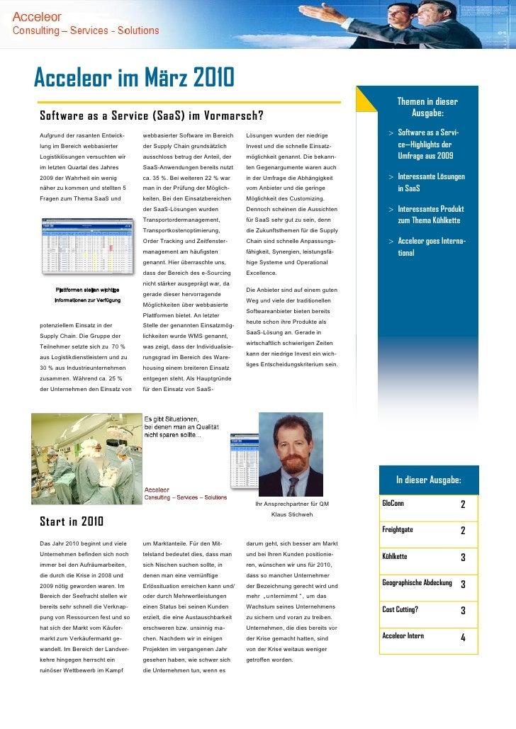 Acceleor im März 2010                                                                                                     ...