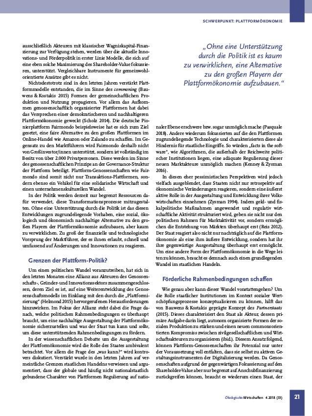 Gemeinwohlorientierte Plattformökonomie aufbauen - Politische Rahmenbedingungen schaffen Slide 2