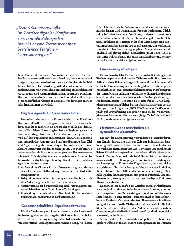 Gemeinwohlorientierte Plattformökonomie aufbauen - Politische Rahmenbedingungen schaffen Slide 3