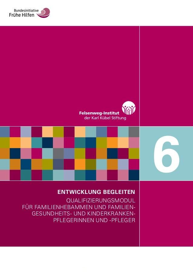 ENTWICKLUNG BEGLEITEN QUALIFIZIERUNGSMODUL FÜR FAMILIENHEBAMMEN UND FAMILIEN- GESUNDHEITS- UND KINDERKRANKEN- PFLEGERINNEN...