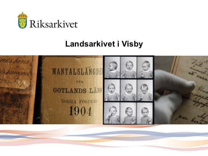 Landsarkivet i Visby
