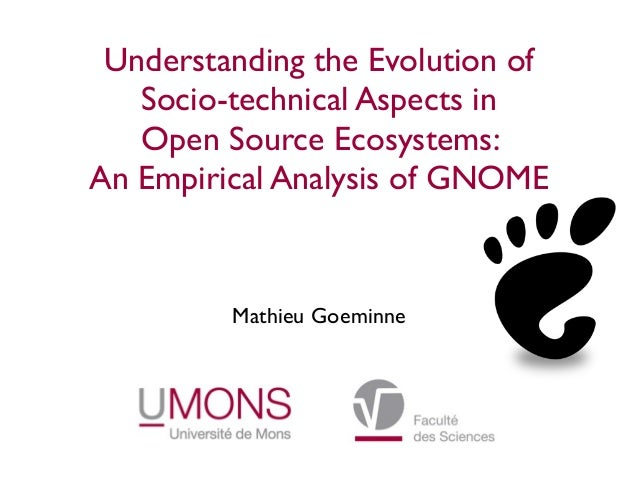 Understanding the Evolution of Socio-technical Aspects in Open Source Ecosystems: An Empirical Analysis of GNOME Mathieu G...