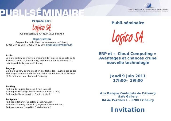 Proposé par :                                                                           Publi-séminaire             Rue du...