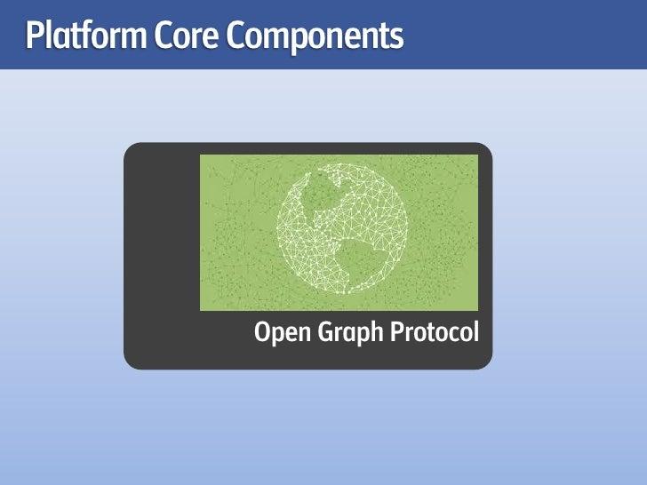 Platform Core Components              Open Graph Protocol