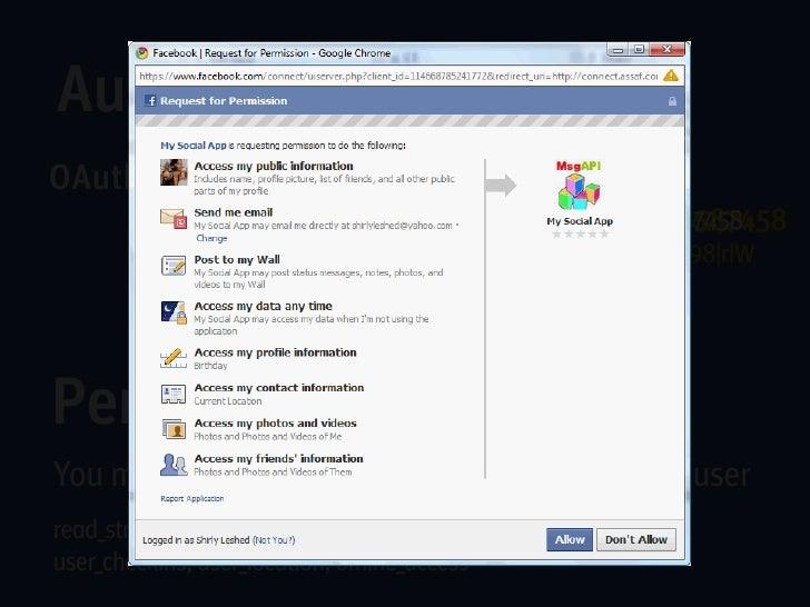 Deleting     HTTP DELETE https://graph.facebook.com/5174466698More info about Facebook Social Graph:http://graph.facebook....