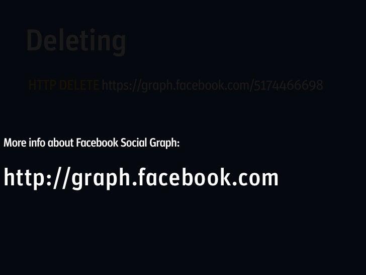 Facebook applicationsSetup a new application at:   Setup a new facebookhttp://www.facebook.com/developers   application