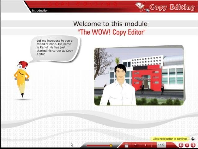 Demo: Training Guide for Copy Editors