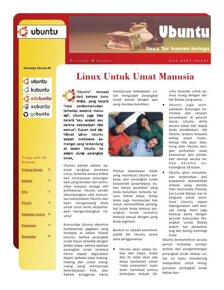 Ubuntu                                                                                 linux for human beings             ...