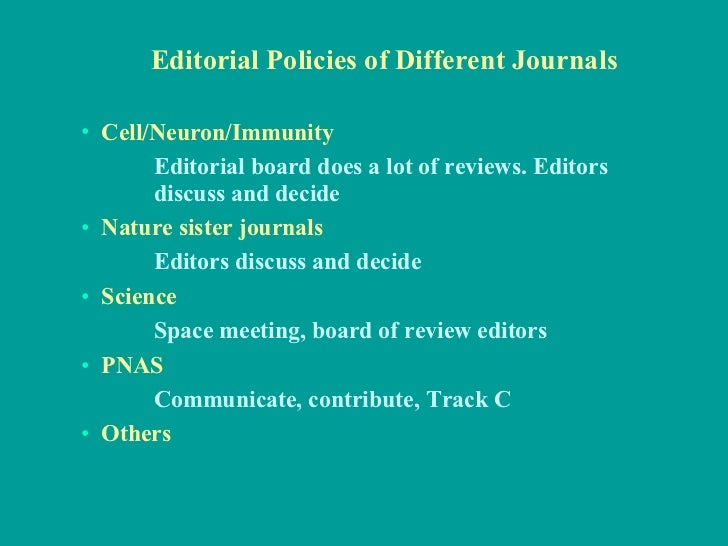 Publish Your Papers In The Top Scientific Journals