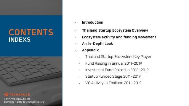 Thailand tech startup ecosystem report 2019 by techsauce Slide 3