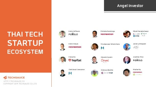 HTTP://TECHSAUCE.CO COPYRIGHT 2019 TECHSAUCE CO.,LTD THAI TECH STARTUP ECOSYSTEM Angel Investor Chualapayap Srikarnchana A...