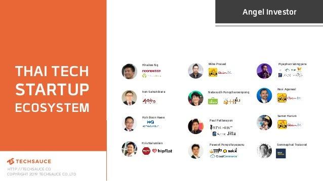 HTTP://TECHSAUCE.CO COPYRIGHT 2019 TECHSAUCE CO.,LTD THAI TECH STARTUP ECOSYSTEM Angel Investor ken Sakakibara Khailee Ng ...