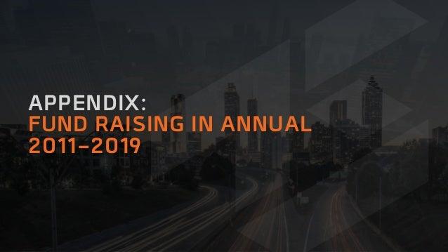 APPENDIX: FUND RAISING IN ANNUAL 2011-2019