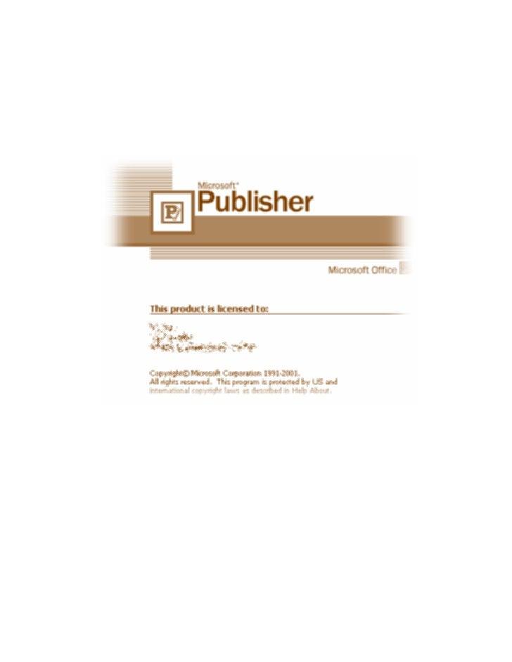 ( Publisher )     :                  Microsoft Office 2003                                 .(            )                ...