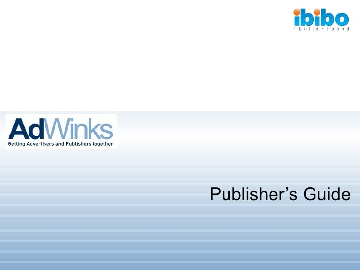 Publisher's Guide