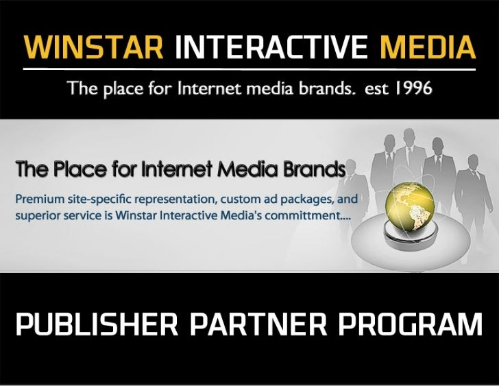 Winstar Interactive Media Services is an outsourced solution partner for your current Ad Operations andTrafficking needs. ...