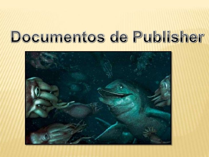 Publisher presentacion