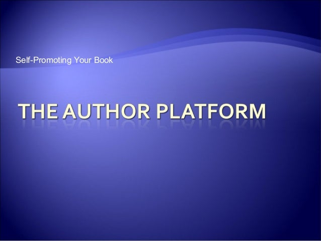 Self-Promoting Your Book