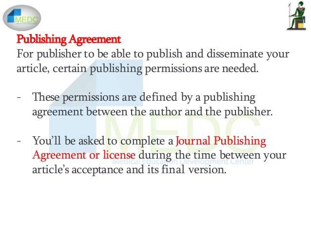 Publishing of an article 58 platinumwayz