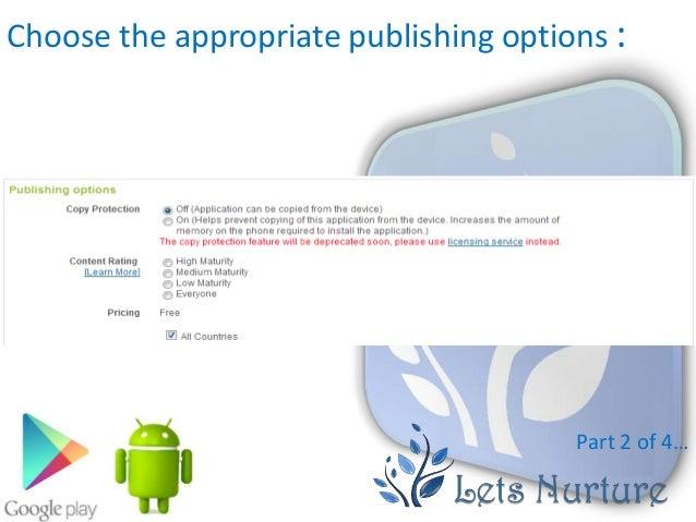 how to publish magazine on google play