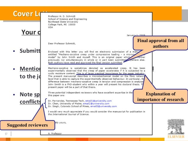 cover letter for publishing editor 1 direct your cover letter to the proper editor even a name on a website can be obsolete, so call the journal to confirm the person's name and title so that you.