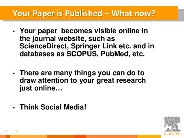 research papers sciencedirect