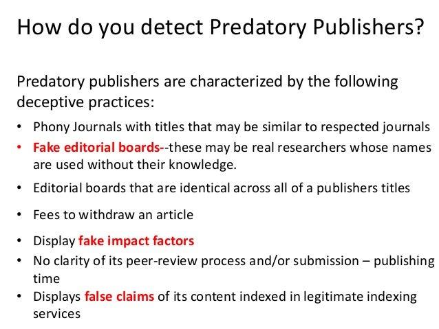Nature Fake Peer Review