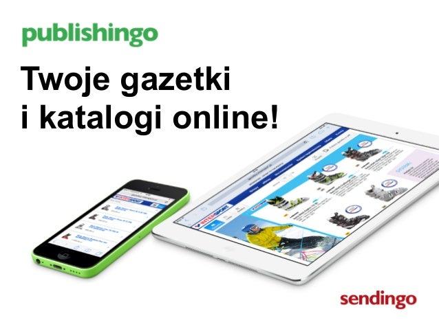 Twoje gazetki  i katalogi online!