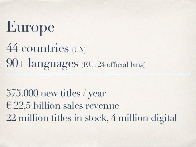 Digital Publishing, EU market, 2017  Slide 3