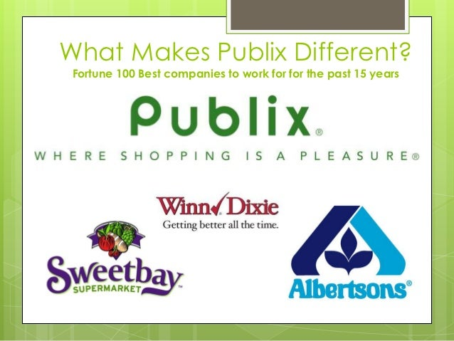 publix case study The cases cited by publix do not remedy this problem  the flsa regular rate  analysis, than a tuition reimbursement program like the publix's.