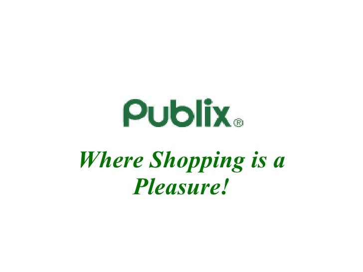 publix case essay Publix super markets, for example, employs more than 160,000  but, on its  website, give directly presents a compelling case for help by.