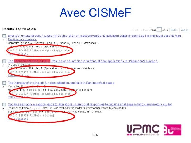 Avec CISMeF     34