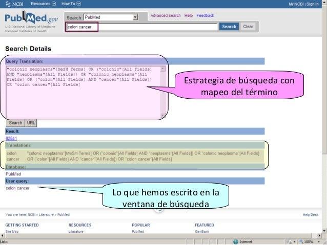 PubMed online Traininghttp://www.nlm.nih.gov/bsd/disted/pubmed.htmlPubMed Tutorialhttp://www.nlm.nih.gov/bsd/disted/pubmed...
