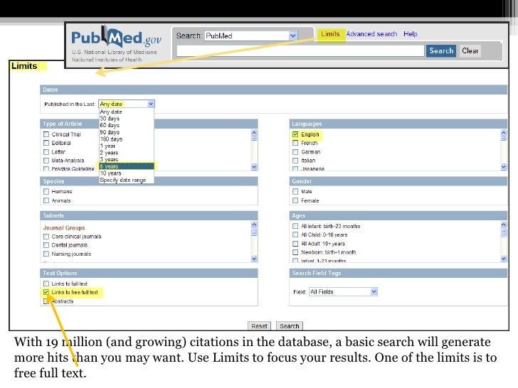 Advanced search pubmed ncbi download pdf for Advanced home search