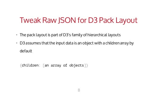 how to pack data in an array in js