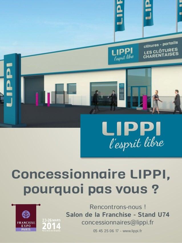 Comment devenir concessionnaire LIPPI ?