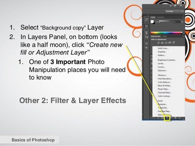 Photoshop Essentials Workshop