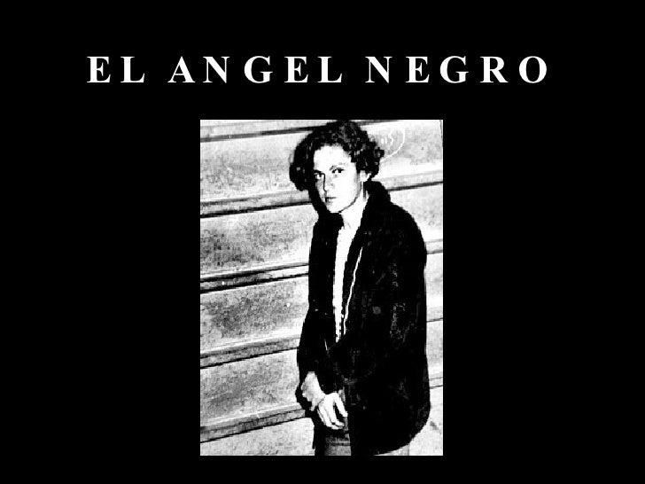EL ANGEL NEGRO