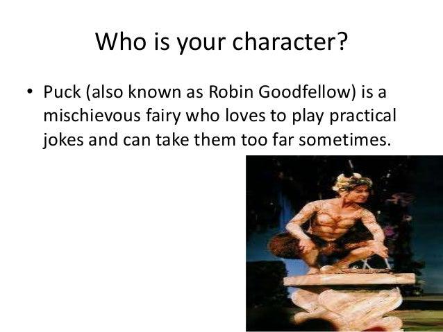 puck character analysis