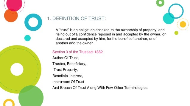 what does breach of trust mean