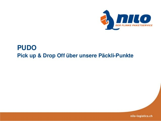 PUDO Pick up & Drop Off über unsere Päckli-Punkte