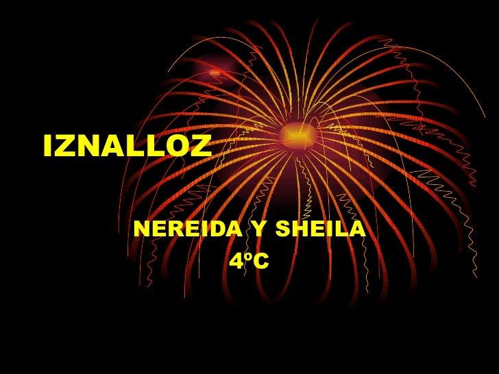IZNALLOZ NEREIDA Y SHEILA 4ºC