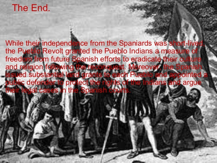 pueblo revolt of 1680 The pueblo revolt of 1680—also known as popé's rebellion—was an uprising  of most of the indigenous pueblo people against the spanish colonizers in the.