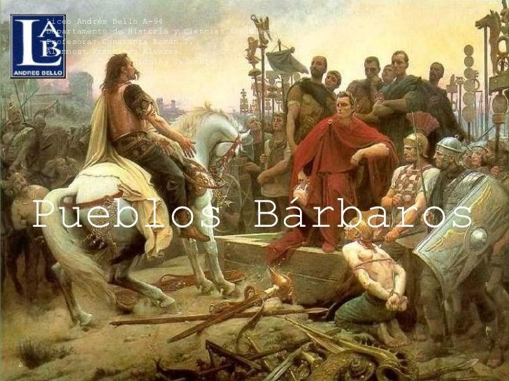 Pueblos Bárbaros