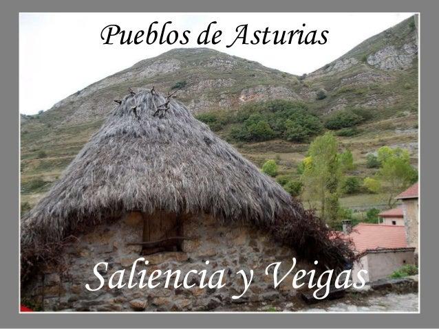 Pueblos de Asturias  Saliencia y Veigas