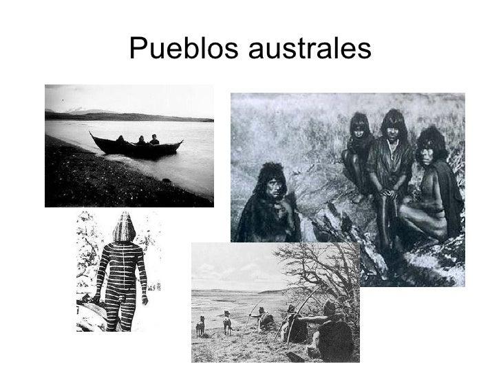 Pueblos australes
