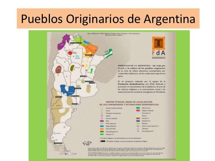 Pueblos Originarios de Argentina<br />