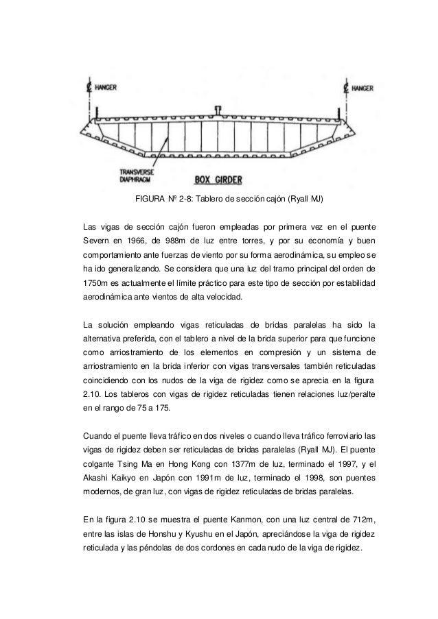 FIGURA Nº 2-8: Tablero de sección cajón (Ryall MJ) Las vigas de sección cajón fueron empleadas por primera vez en el puent...