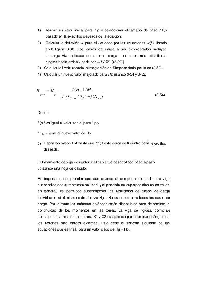 1) Asumir un valor inicial para Hp y seleccionar el tamaño de paso ΔHp basado en la exactitud deseada de la solución. 2) C...
