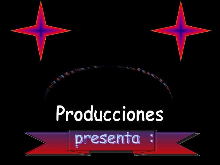 presenta  : Producciones Contra-Revolución